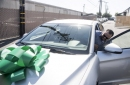 Iraq War vet who took buses to volunteer work surprised with a car at Costa Mesa auto repair shop