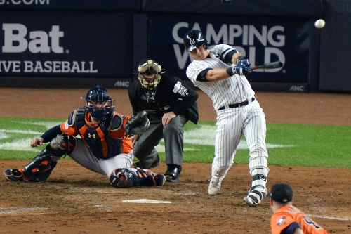 Gary Sanchez back to doing what he does best