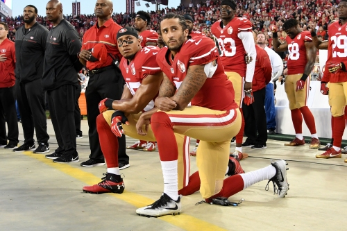Eric Reid was first to follow Colin Kaepernick. He's still trying to change the world.