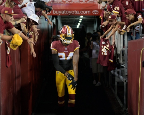Redskins CBs Norman, Breeland take measured steps toward return with Eagles ahead