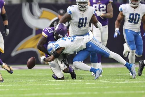 Notes: Lions still have a top 10 defense per PFF