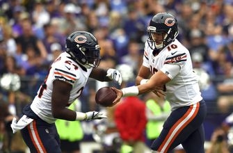 Bears rely on run game while bringing Trubisky along slowly