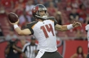 Bucs' Fitzpatrick in familiar spot with chance to face Bills