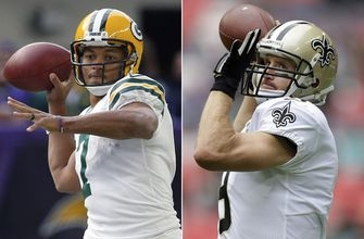 Surging Saints march into Lambeau, face Rodgers-less Packers