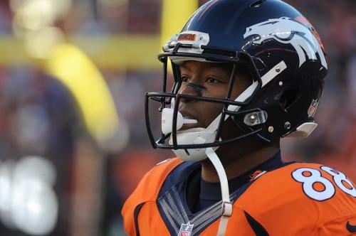 Broncos injury report: Demaryius Thomas practiced Thursday