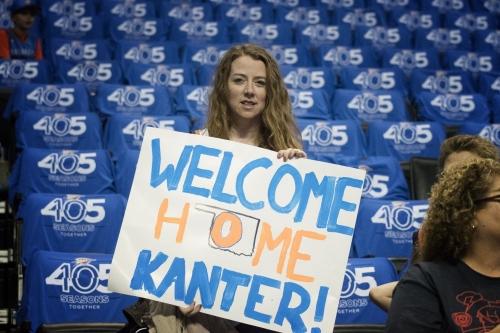 Game Thread: Knicks at Thunder- 10/19/17