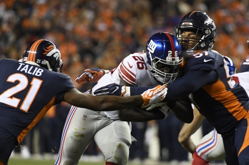 The Broncos' run defense regressed against the Giants. Anomaly or cause for concern?
