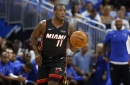 How would Dion Waiters ankle issue affect his trade value for the Heat?