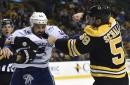 RANK 'EM: Bruins drop Canucks with four first-period goals, win 6-3