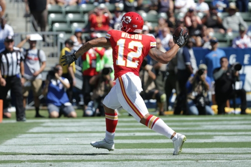 Chiefs somehow get a tipped pass touchdown that goes for 63 yards