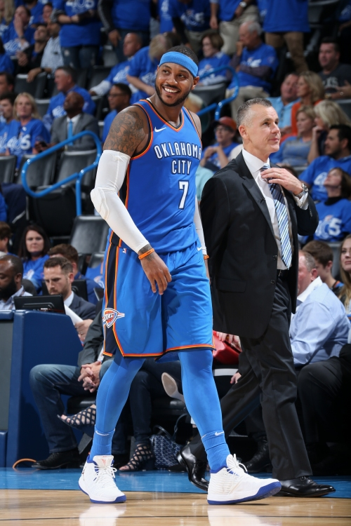 Thunder top Knicks 105-84 in OKC debuts for George, Anthony The Associated Press
