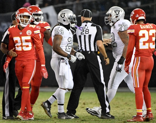 Marcus Peters on Marshawn Lynch intervention: Family comes first