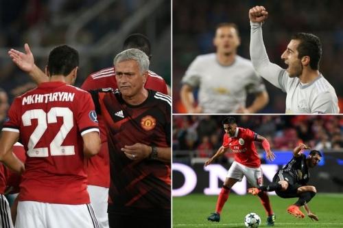 Manchester United forward Henrikh Mkhitaryan needs to be protected by Jose Mourinho