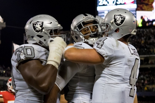 The AFC is wide open after the Chiefs Thursday night loss to the Raiders