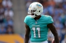 Dolphins game planning without DeVante Parker, hoping to plug him in