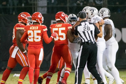 Raiders beat the Chiefs questions: All the rage