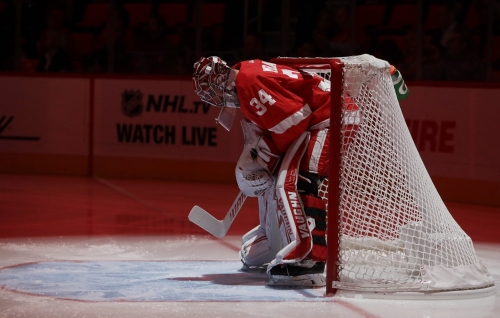 Red Wings' lineup vs. Capitals: Petr Mrazek's first home start