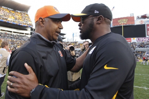 Steelers prepare to face a Cincinnati Bengals team in transition