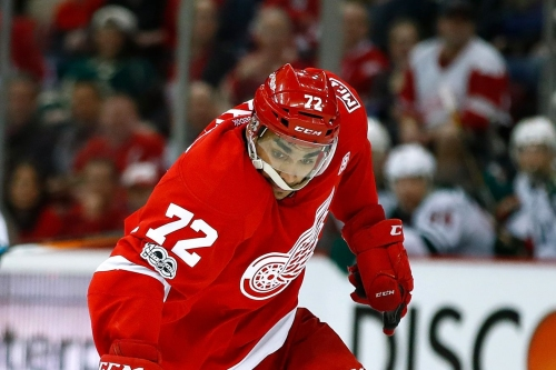 Report: Andreas Athanasiou and Red Wings Close to a 1-Year Deal, Ending Contract Stalemate