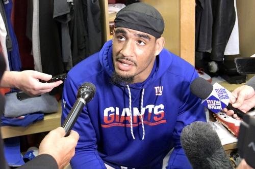 Olivier Vernon isn't ready for Giants return