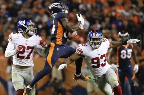 Darian Thompson is out of his own head and impressing Giants again