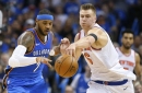Knicks no match for Carmelo, Thunder in opening-night dud