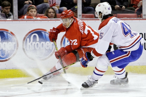Red Wings, Andreas Athanasiou close to one-year deal