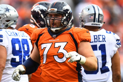 With two OL injured, Broncos will start Allen Barbre at right tackle