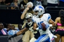 Lions notes: Golden Tate leads all WRs in missed tackles, receptions from slot