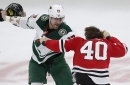Wild's Marcus Foligno won't change the way he plays … or fights