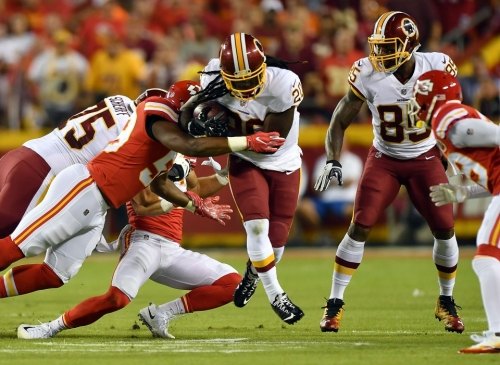 Redskins hope a healthy Rob Kelley is answer to Eagles' top-ranked run defense