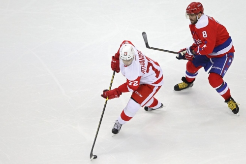 Report:Red Wings and forward Andreas Athanasiou have agreed to one-year deal worth $1.387M