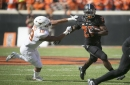 Texas' notable number: Oklahoma State's Justice Hill — and the number 4
