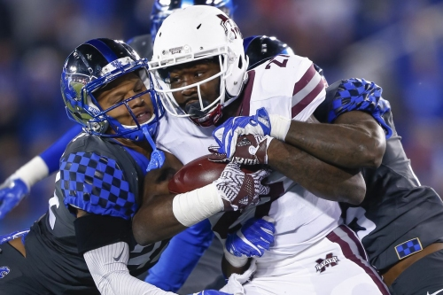 Kentucky Wildcats Football vs Mississippi State Bulldogs 2017