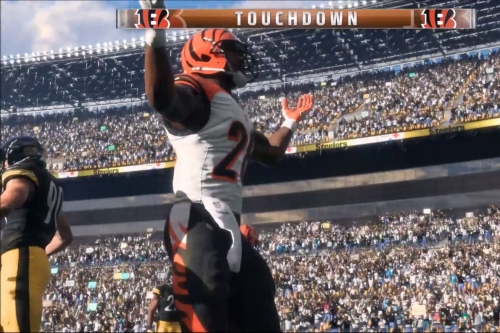 NFL Week 7: Bengals vs Steelers Madden simulation