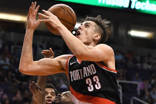 Zach Collins and Domantas Sabonis face off tonight