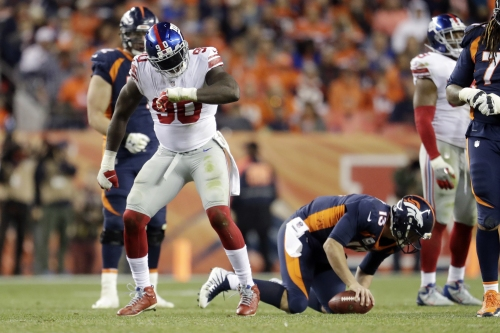 Giants' 'juice' man Jason Pierre-Paul could be back on track