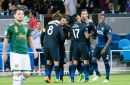 "San Jose Earthquakes attacking front four will look ""to take the game to our opposition"""