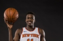 Knicks practice notes- 10/20/17: Frank Ntilikina injured his ankle, questionable for Saturday