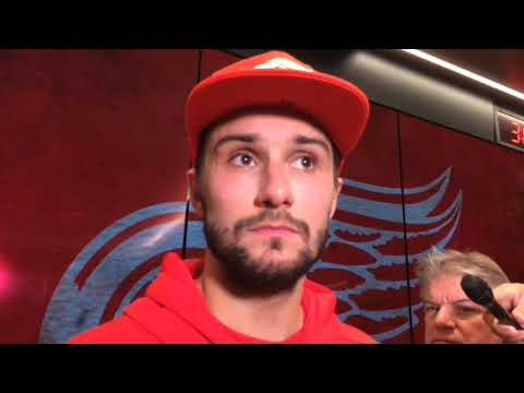 Red Wings' Petr Mrazek disappointed by loss but encouraged by performance