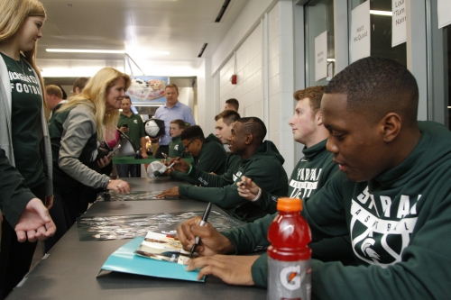 Michigan State's players put on a show at Midnight Madness The Associated Press