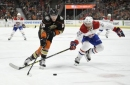 Grant's first 2 NHL goals lead Ducks' 6-2 rout of Canadiens (Oct 20, 2017)