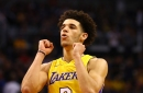 Watch full highlights of Lonzo Ball's dazzling double-double against the Suns