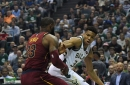 Cleveland Cavaliers one play explained: LeBron meets Giannis at the rim