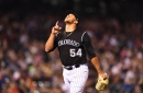 Carlos Estévez showed signs that he can play a big role for the Colorado Rockies