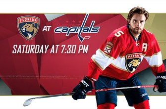 Preview: Panthers have quick turnaround, face off with Capitals on road
