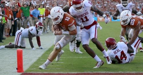 FOLLOW LIVE: Texas hosts No. 10 Oklahoma State