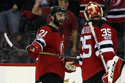 Devils at Edge of NHL Possession Bubble