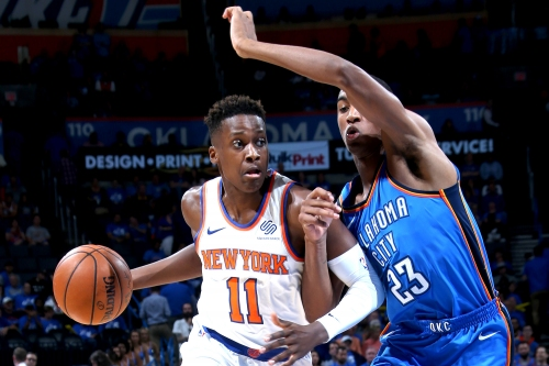 Frank Ntilikina is Knicks' only hope at point guard