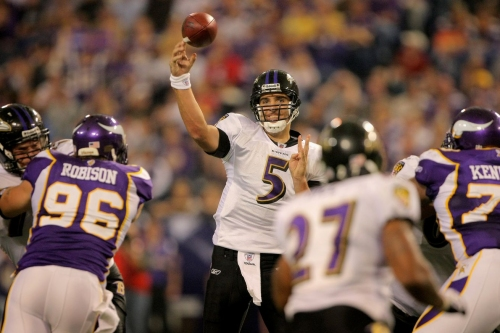 Ravens Nest: The Vikings defense poses a threat to the Ravens